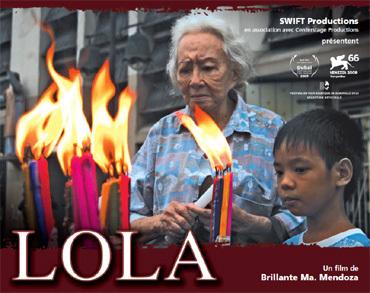 Lola : deux grands-mères de Manille confrontées à un drame commun (film)