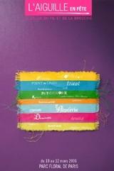 L'aiguille en fête : la 3ème édition revient au Parc floral de Paris en mars 2006