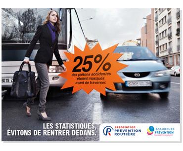 Les dangers de la rue : campagne de sensibilisation des associations Prévention Routière et Assureurs Prévention