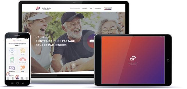 Caen : Senior, senior, une appli destinée aux seniors