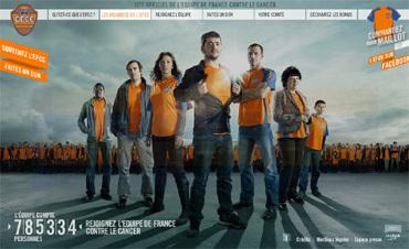 Semaine nationale de lutte contre le cancer : rejoignez l'équipe de France contre le cancer !
