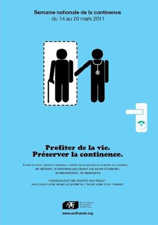 Semaine nationale de la continence urinaire du 14 au 20 mars 2011