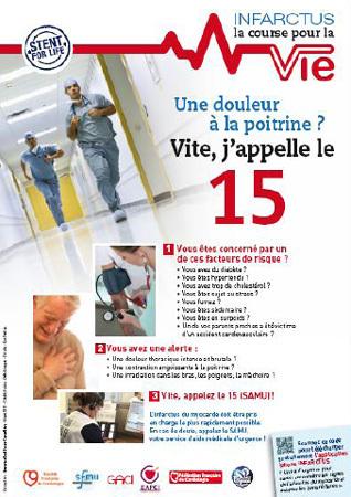 Infarctus du myocarde : la course pour la vie, résultats de l'observatoire français