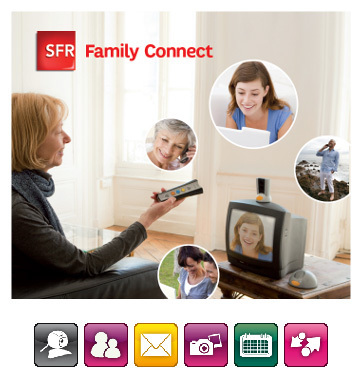 Family Connect : SFR propose aux grands-parents de rester en contact vidéo avec leurs proches