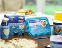 Tesco lance une gamme de produits laitiers anti-cholestérol sous sa propre marque