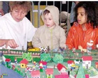 Intergénération à Colombes : plusieurs projet en cours et une charte pour 2006