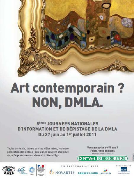 5èmes Journées Nationales d'information et de dépistage de la DMLA