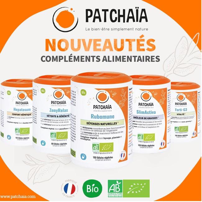 Patchaïa : une nouvelle marque de compléments alimentaires écoresponsables