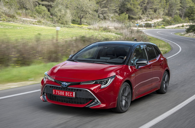 Toyora Corolla Hybride