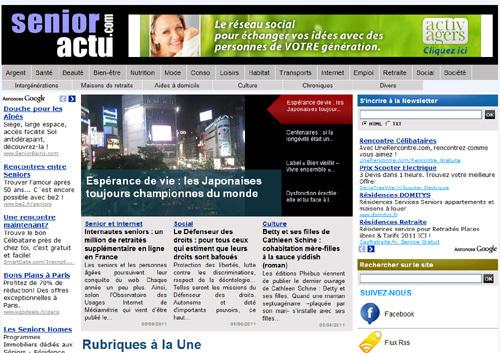 Internautes seniors : un million de retraités supplémentaire en ligne en France