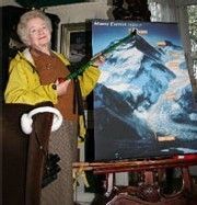 Mary Woodbrigdge, 85 ans, va gravir l'Everest… ou marketing viral efficace pour une société suisse