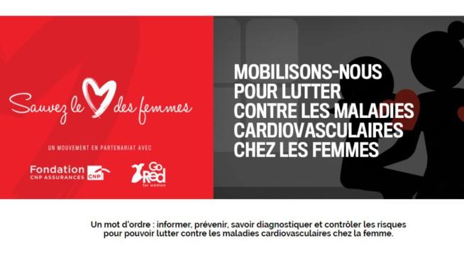 Les maladies cardio-vasculaires tuent une femme sur trois : mobilisons-nous le 16 mai !