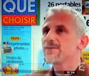 Alain Bazot, président de l'UFC-Que Choisir sur France 2