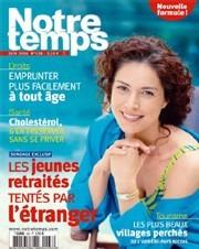 Notre Temps : une cure de jouvence pour ce magazine senior