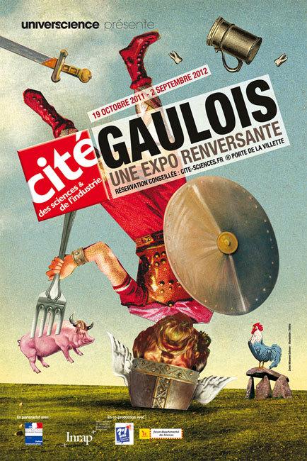 Gaulois, une exposition temporaire de la Cité des sciences et de l'industrie : jusqu'au 2 septembre 2012