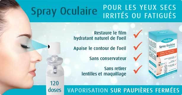 Vyséo, le 1er spray contre le syndrome de sécheresse occulaire