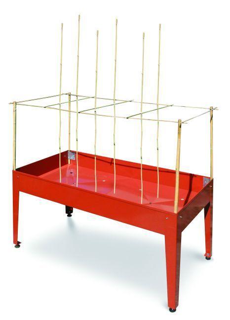 Des tables de culture en hauteur pour faire un potager sans se baisser
