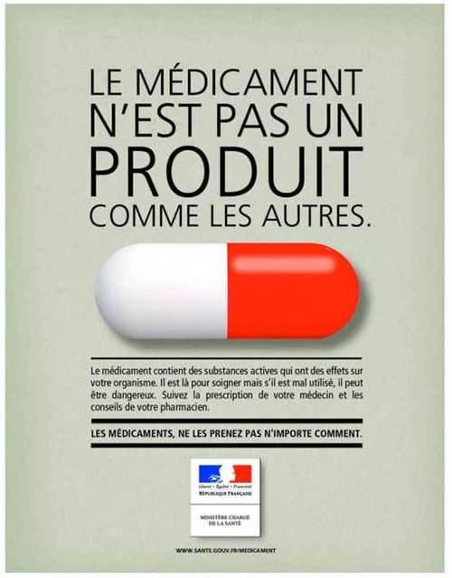 Le médicament n'est pas un produit comme les autres...