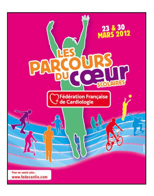 Les Parcours du Cœur 2012 : 37ème édition les 31 mars et 1er avril 2012