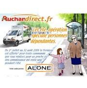 Auchandirect.fr lance une opération spéciale personnes âgées ou dépendantes pour l'été 2006