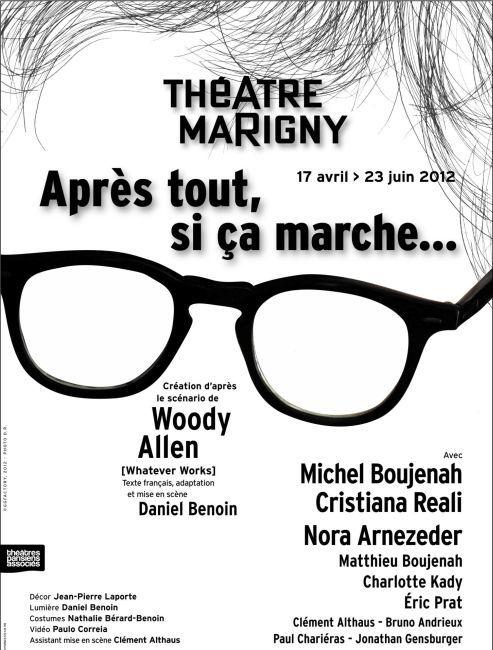 Après tout, si ça marche… les relations intergénérationnelles vues par Woody Allen (Théâtre Marigny)