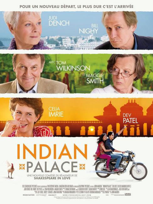 Indian Palace : quand des retraités britanniques partent s'installer en Inde pour une vie meilleure… (film)