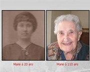 Un petit-fils de 57 ans réalise un site web sur sa grand-mère de 112 ans, vice doyenne de France
