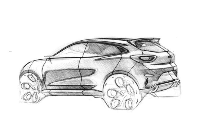 Ford Puma sketches