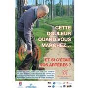 Des pas pour la vie : une campagne d'information pour sensibiliser les seniors à l'artériopathie
