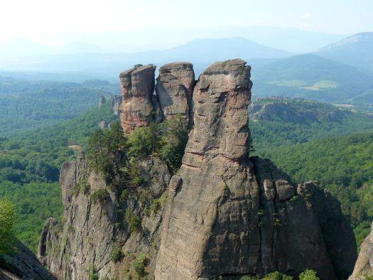 Belogradcik : les roches rouges