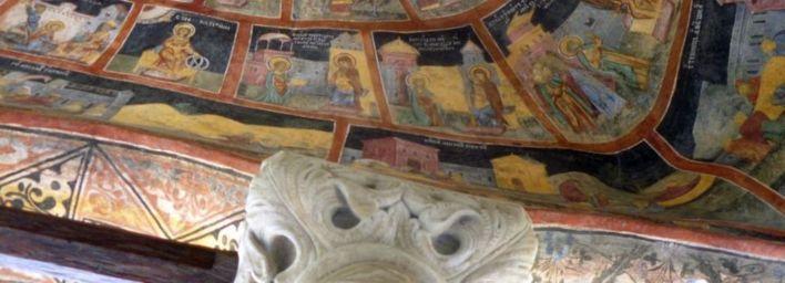 Monastère Sinaia (détail)