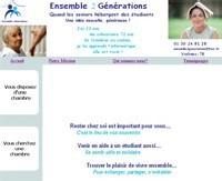 Ensemble2générations : cohabitation seniors/étudiants dans les Yvelines