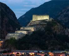 Le site du Fort de Bard - crédit photo Alessandro Zambianchi
