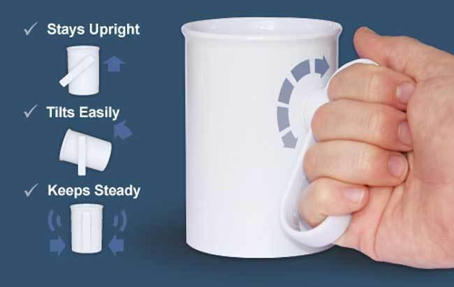handSteady : des mugs « design pour tous »