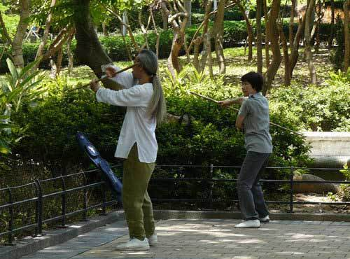 Le tai-chi réduit les chutes de personnes âgées