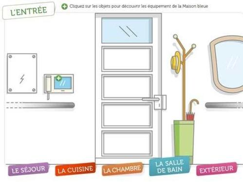 Maison Bleue 41 : une maison qui présente 200 produits et solutions techniques pour vieillir à domicile