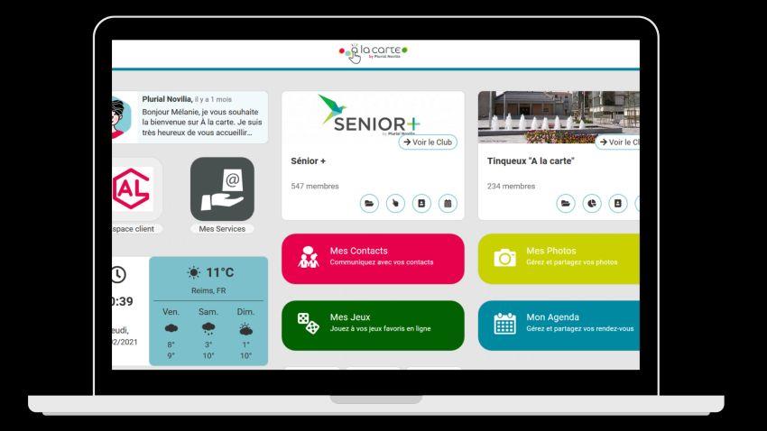 Plurial Novilia : plateforme de services à la carte expérimentale pour ses locataires seniors