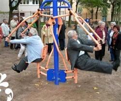 Rester en forme grâce aux Body Boomers, des appareils de fitness de plein air pour seniors