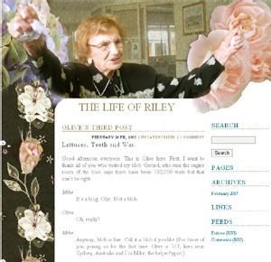 Olive Riley, 107 ans et probablement la blogeuse la plus âgée au monde…