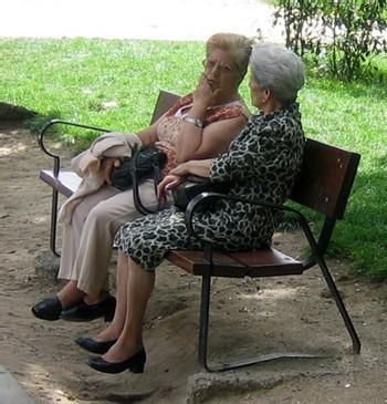 La population senior moins susceptible d'être victimes de crimes avec violence