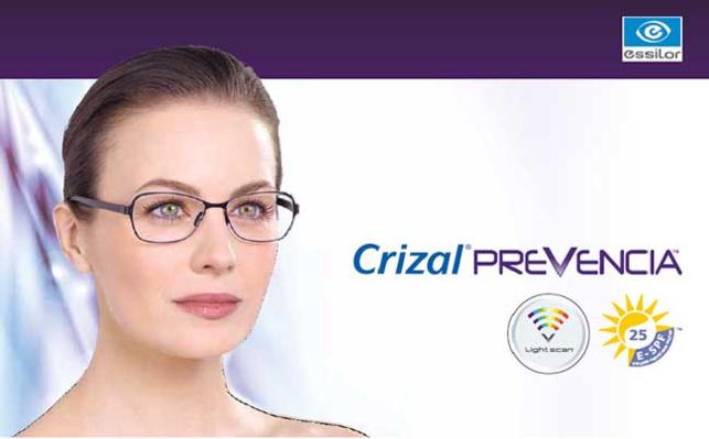 Crizal Prevencia : le premier verre qui protège de la lumière bleue et prévient la DMLA