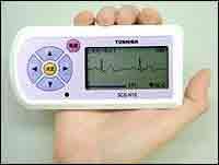 Japon – Toshiba invente l'électrocardiogramme portatif