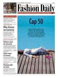 France - Fashion Daily News présente un dossier spécial Boomers dans son numéro du 18 juillet