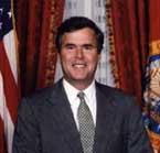 Le gouverneur de l'Etat de Floride, Jeb Bush