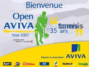 Open Aviva : lancement de la 2ème édition de ce tournoi de tennis destiné aux 35 ans et plus