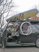 Roof Spider : le 1er coffre de toit permettant de charger une chaise roulante depuis les deux côtés du véhicule