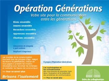 Opération Générations : un site et des outils pour faciliter la communication intergénérationnelle