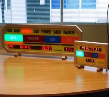 La Mémorielle : une horloge qui permet aux seniors de mieux appréhender la notion du temps
