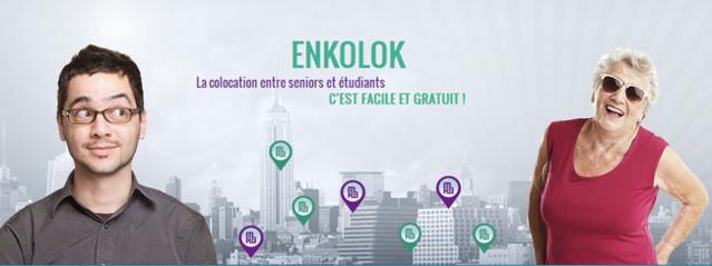 Enkolok.fr : un site Internet pour favoriser la colocation seniors/étudiants
