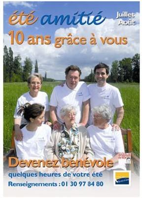 Eté Amitié : depuis dix ans, Versailles lutte contre l'isolement des seniors